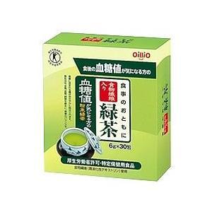 日清オイリオ 食事のおともに 食物繊維入り 緑茶 血糖値が気になる方の 粉末緑茶 (6g×30包) 特定保健用食品 トクホ ※軽減税率対象商品|kusurinofukutaro