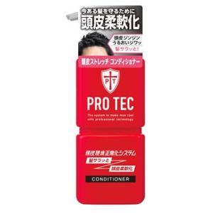 ライオン PRO TEC プロテク 頭皮ストレッチ コンディショナー ポンプ (300g)|kusurinofukutaro