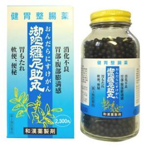 【第3類医薬品】二反田薬品工業 御陀羅尼助丸 (2300丸) 胃もたれ 軟便 便秘