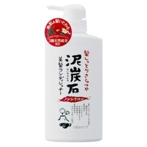 ペリカン石鹸 泥炭石 ノンシリコン 美髪コンディショナー (500mL) JANコード:497663...