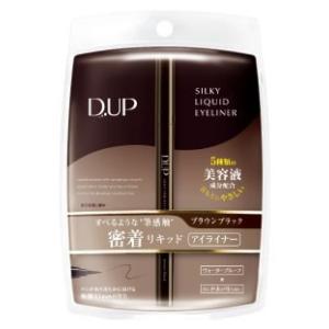 D.UP ディーアップ シルキーリキッドアイライナー WP ブラウンブラック (1個) JANコード...