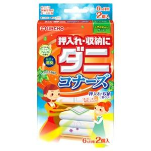 金鳥 KINCHO キンチョウ 押入れ・収納にダニコナーズ サンシャインフォレストの香り (2個入)|kusurinofukutaro