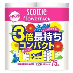 日本製紙 クレシア スコッティ フラワーパッ...の関連商品10