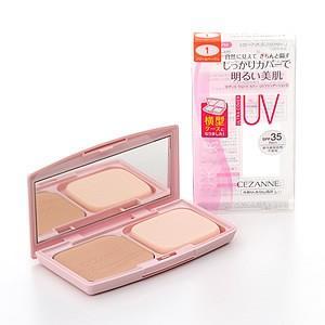 セザンヌ化粧品 ウルトラカバー UVファンデーションII 1 クリームベージュ SPF35 PA++...