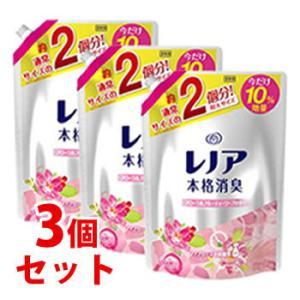 ★セール★ 《セット販売》 P&G レノア 本格消臭 フローラルフルーティソープの香り 特大サイズ 増量 つめかえ用 (1000mL)×3個セット kusurinofukutaro