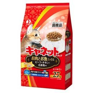 ペットライン キャネットチップ お肉とお魚ミックス (2.7kg) キャットフード