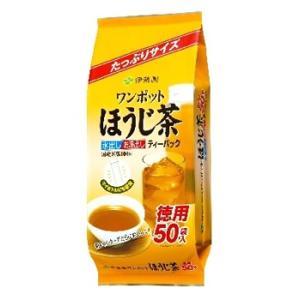 伊藤園 ワンポットほうじ茶 ティーバッグ (50袋) ほうじ茶 ※軽減税率対象商品|kusurinofukutaro
