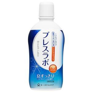 第一三共ヘルスケア ブレスラボ マウスウォッシュ シトラスミント (450mL) 洗口液 口臭予防 ノンアルコールタイプ 医薬部外品|kusurinofukutaro