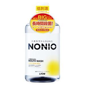 ライオン NONIO ノニオ マウスウォッシュ ノンアルコール ライトハーブミント (1000mL) 薬用 洗口液 医薬部外品 kusurinofukutaro