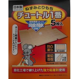 ねずみとりもちチュートル1番|kusurinohiratuka