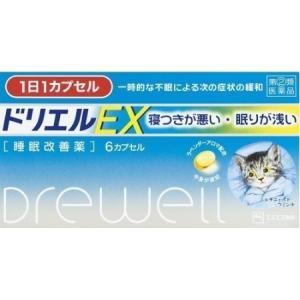 ネコポス送料無料 ドリエルEX(6カプセル)代引き不可(第(2)類医薬品)|kusurinohiratuka