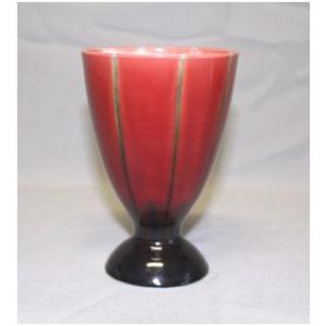 中村 秋塘 フリーカップ (赤) kutani-bitouen