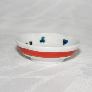手描き 九谷焼 和洋食器 木瓜松文様豆皿(箸置き)|kutani-bitouen|03