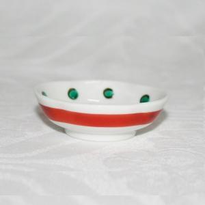 手描き 九谷焼 和洋食器 五弁花文様豆皿(箸置)|kutani-bitouen|03