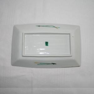 手描き 九谷焼 和洋食器 白梅文様八寸長皿|kutani-bitouen|04