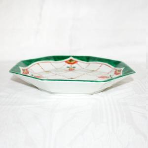 手描き 九谷焼 和洋食器 瓔珞文八角八寸皿|kutani-bitouen|02