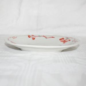 手描き 九谷焼 和洋食器 山帰来文八寸楕円皿|kutani-bitouen|02