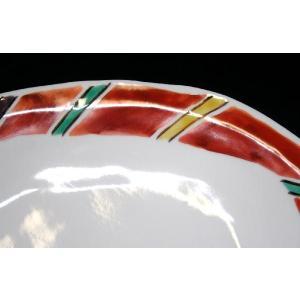 手描き 九谷焼 和洋食器 間道文様八寸楕円皿|kutani-bitouen|04