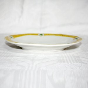 手描き 九谷焼 和洋食器 白花文八寸楕円皿|kutani-bitouen|02