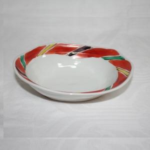 手描き 九谷焼 和洋食器 間道文六寸楕円鉢 kutani-bitouen