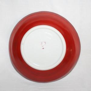 手描き 九谷焼 和洋食器 魯山人うつし 玉並び文様平鉢|kutani-bitouen|04
