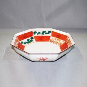 手描き 九谷焼 和洋食器 松竹梅文八角鉢|kutani-bitouen