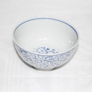 手描き 九谷焼 和洋食器 染付見込梅詰文様お茶碗|kutani-bitouen|02