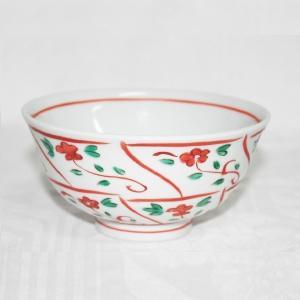 手描き 九谷焼 和洋食器 なずな文様お茶碗|kutani-bitouen