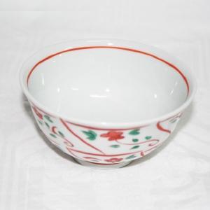 手描き 九谷焼 和洋食器 なずな文様お茶碗|kutani-bitouen|02