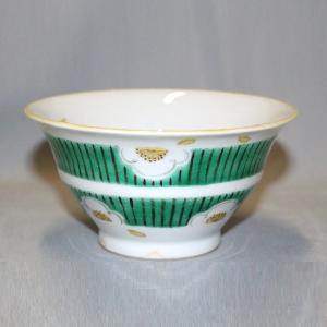 手描き 九谷焼 和洋食器 白梅文様お茶碗|kutani-bitouen