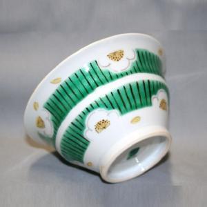 手描き 九谷焼 和洋食器 白梅文様お茶碗|kutani-bitouen|03