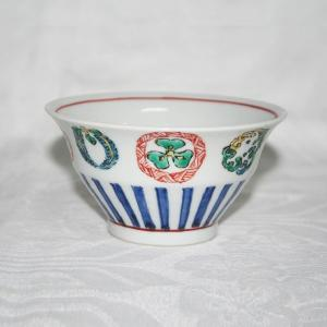 手描き 九谷焼 和洋食器 丸紋づくし文様お茶碗|kutani-bitouen|02