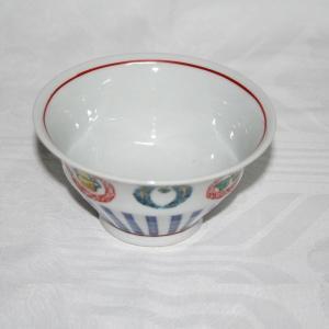 手描き 九谷焼 和洋食器 丸紋づくし文様お茶碗|kutani-bitouen|04