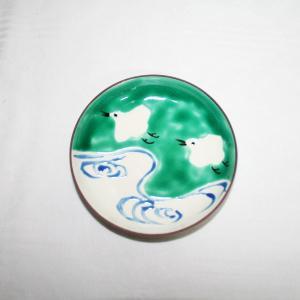 手描き 九谷焼 和洋食器 絵変千鳥文三.五寸皿|kutani-bitouen|02