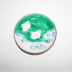 手描き 九谷焼 和洋食器 絵変千鳥文三.五寸皿 kutani-bitouen 06