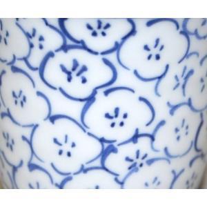 手描き 九谷焼 和洋食器 染付梅詰文様湯呑|kutani-bitouen|05