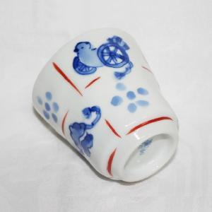 手描き 九谷焼 和洋食器 手起し道具づくし文湯呑|kutani-bitouen|05