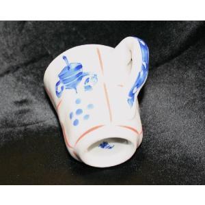 手描き 九谷焼 和洋食器 手起し道具づくし文様マグカップ|kutani-bitouen|02