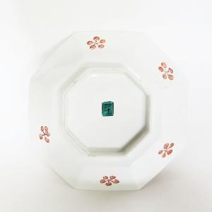 手書き 九谷焼 和洋食器  干支 「戌」文様九寸八角皿  kutani-bitouen 02