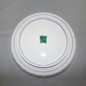 手書き 九谷焼 はは鳥文八寸飾皿 (山岸 雄三)|kutani-bitouen|03