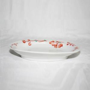 手描き 九谷焼 和洋食器 山帰来文六・五寸楕円皿|kutani-bitouen|02