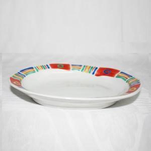 手描き 九谷焼 和洋食器 メキシカン文六・五寸楕円皿|kutani-bitouen|02