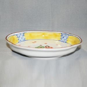 手描き 九谷焼 和洋食器 ひな文木瓜皿|kutani-bitouen|03