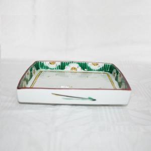 手描き 九谷焼 和洋食器 白梅文様足付六寸皿|kutani-bitouen|02