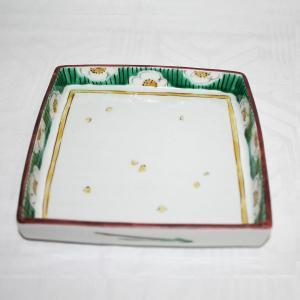 手描き 九谷焼 和洋食器 白梅文様足付六寸皿|kutani-bitouen|03