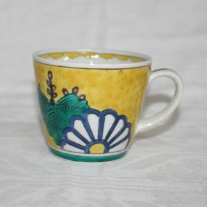 手描き 九谷焼 和洋食器 菊桐文様 マグカップ|kutani-bitouen