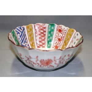 手描き 九谷焼 和洋食器 小紋づくし文様六寸深鉢|kutani-bitouen
