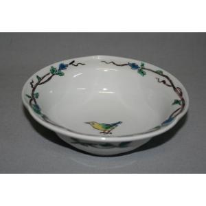 手描き 九谷焼 和洋食器  鳥文様五寸鉢|kutani-bitouen|02