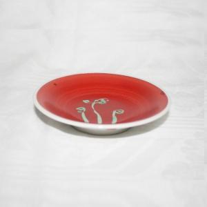 手描き 九谷焼 和洋食器 さわらび文様三・五寸皿|kutani-bitouen|02