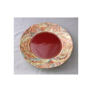 吉田るみ子 丸皿 kutani-bitouen